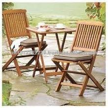 Акации и эвкалипта твердой древесины на открытом воздухе / сад набор мебели - столик