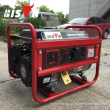 BISON China Taizhou 2000W 2KW monofásico CE gasolina portátil generador silencioso