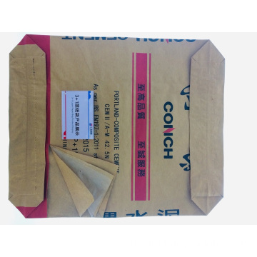 3 + 1 Chemisches Material Plastic Liner Paper Cement Bag