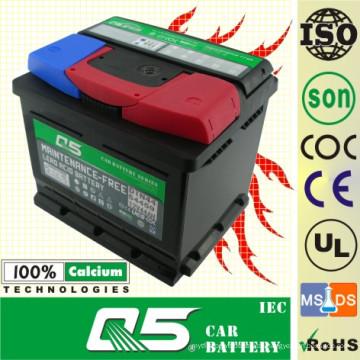 DIN-54317 12V43AH für wartungsfreie Autobatterie