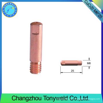 М6*25 ЧМТ 150 сварочный запчастей, сварочные аксессуары cucrzr контактный наконечник