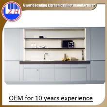2015 Nuevos diseños de la muestra Gabinetes de cocina de madera del MDF (modificados para requisitos particulares)