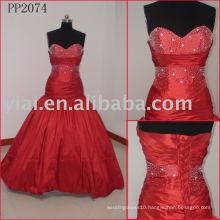 Elegant Silk Taffeta Sexy Real Party dress PP2084