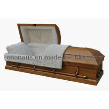 Nous Style cercueil en bois chêne massif (5050005)