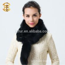 2015 Newest Ladies Winter Scarf Whole Skins Genuine Fox Fur Scarf