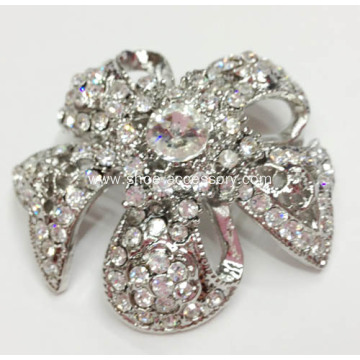 Flower Style Bridal Shoe Clips