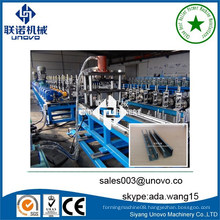 unovo auto slotted steel channel roll forming machine