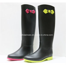 New Fashion Women Rain Boot with Trendy Rubber