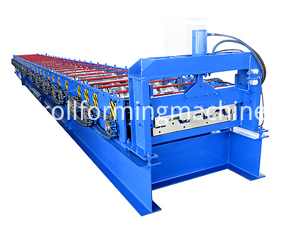 750 Floor Decking Roll Forming Machine