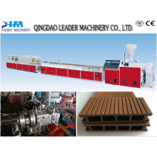 WPC Plastic Processed WPC Wall Panel Making Machine