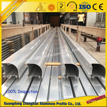 Perfil de extrusão de alumínio de purificação para sala limpa em laboratório ou oficina