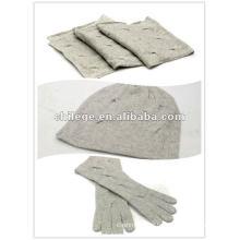 Bonnets de Noël, écharpes et gants