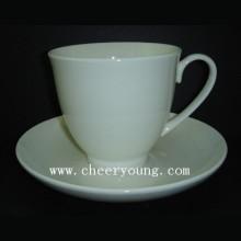 Keramik-Tasse und Untertasse (CY-B546)