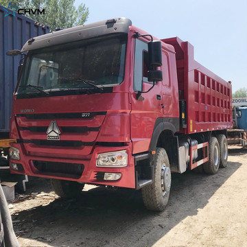 Refurbished Sinotruk Howo 6x4 371hp डंप ट्रक