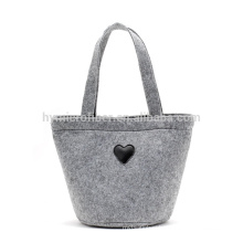 Custom soft protection felt shopping tote bag