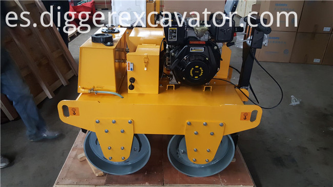 Diesel Engine Double Drum Roller