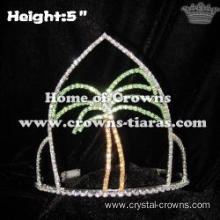 Summer Plam tree Pageant Crowns