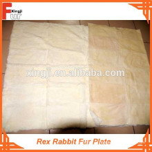 First Class Grade A Rex Precio razonable Rex rabbit fur plate