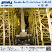 Proveedor de Dongguan automatizado de estante del almacenaje del Metal 3-dimensional del almacén