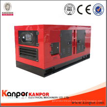 Silent Type 3 Phase Water Cooled 550kVA Diesel Generator Brand Engine