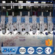 18 cabezas lentejuelas dispositivo computerizado bordado máquina precio para la venta