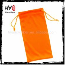 Высокое качество ткани мешочек, конверт, логотип печатных микрофибры очки мягкий чехол, упаковка мешки для eyeglasses