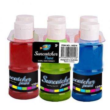 Suncatcher Atividade diy suncatcher ofício pintura 6 * 120 ml