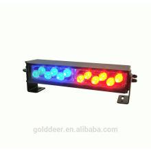 Водонепроницаемый красный / Blue12V Led свет вспышки света светодиодные полиции палубе