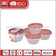Take-away luftdicht Klasse Mahlzeit Nahrungsmittelkasten Kunststoffbehälter