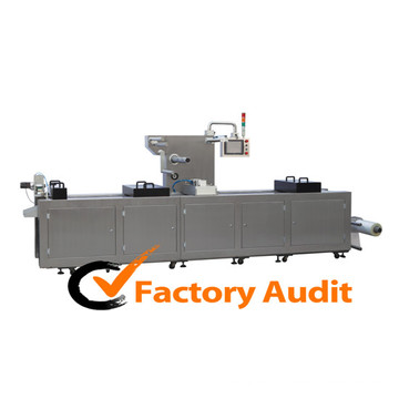 Dlz-460 Full Automatic Continuous Stretch Rice Vacuum Packaging Machine