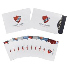 RFID Blocking Sleeves (10 Credit Card & 2 Passport Protectors) (420005)