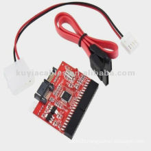 IDE TO SATA Converter Card 100/133 HDD CD DVD Converter Adapter +Cable