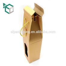 Hochwertiger Wellpappe Verpackungsträger Verpackung Geschenkbox für Bier