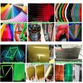 China Factory Sale Glow in Dark Color Powder Revêtement de peinture revêtue