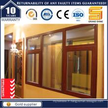 Fenêtre battante en aluminium haute qualité et meilleur prix