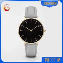 Reloj de acero inoxidable de aleación, fábrica al por mayor hecho en China Timepiece