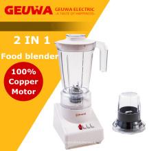 Geuwa 2 dans 1 mélangeur de nourriture avec le moulin sec attaché