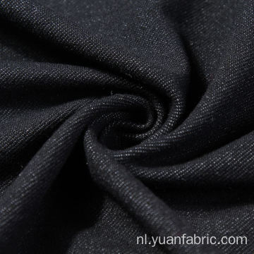 Katoen en Stretch Black Denim Fabric Wholesale