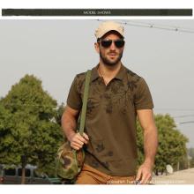 OEM Service High Quality Custom Pique Fabric 100% Cotton Mens Polo Shirt