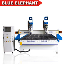 2055 3D Separate Heads CNC Wood Carving Machine, 3 Axis Machine CNC for Furniture Making