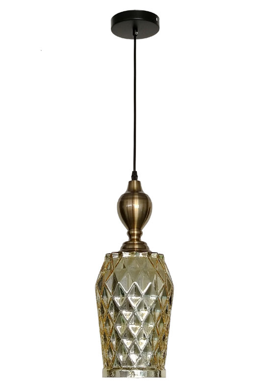 Small Size Gold Pendant Lamp