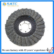 China fornecimento de fábrica 100x16mm não-tecido pano flap disc