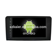 Octa core! Android 8.0 voiture dvd pour ML, GL avec écran capacitif de 9 pouces / GPS / lien miroir / DVR / TPMS / OBD2 / WIFI / 4G