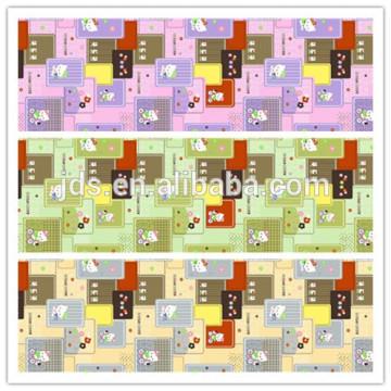 Tissu imprimé polyester / coton
