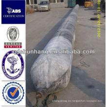 GL certificado Dia1.5mX8m anti explosión inflable del edificio industrial de elevación de caucho airbag
