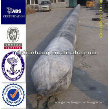 GL certificate Dia1.5mX8m anti explosion inflatable industrial building rubber lifting airbag