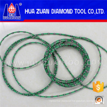 Green 9.0mm Endless Diamond Wire Saw for Granite