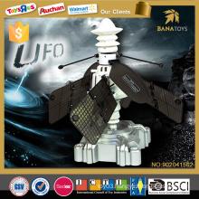 Novelty induction toy flying ufo infrared sensors ufo