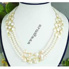Gets.com 2015 joyas de perlas de agua dulce naturales