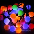 20/30/50 светодиодный шар огни строки солнечный свет Рождества декоративные освещение для дома сад Патио газон украшения партии